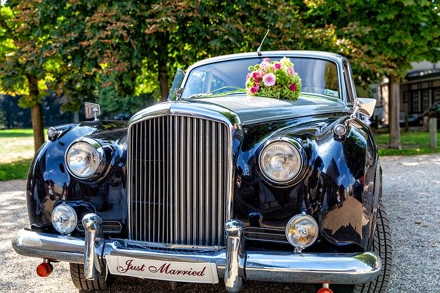 Bentley Wedding Car Oldtimer
