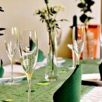 Chemin de table et décoration de fêtes